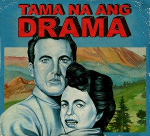 """Tama Na Ang Drama"" album cover, Dina Gadia, 2012, for Ang Bandang Shirley. Courtesy Wide Eyed Records."